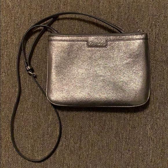 Calvin Klein Handbags - Calvin Klein Silver Crossbody
